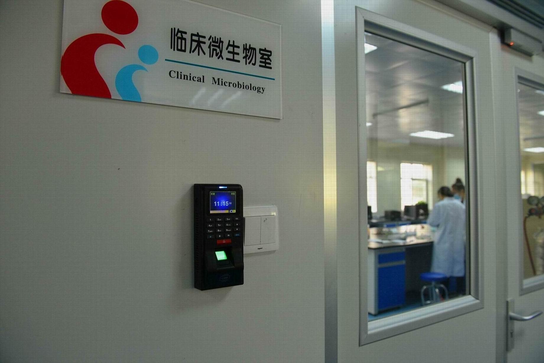 我院检验科按实验室生物安全要求完成装修改造